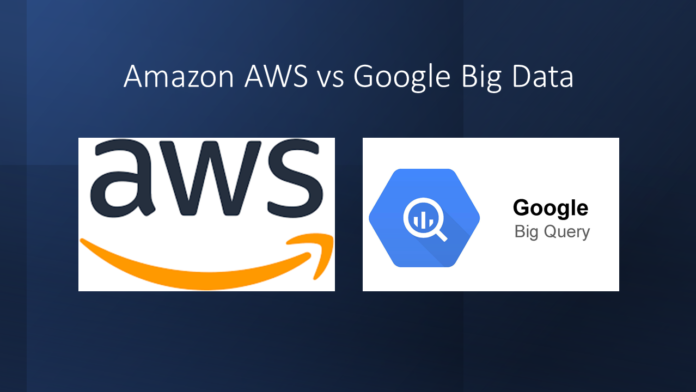 How Amazon AWS and Google Big Data Differ