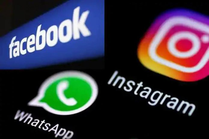 Facebook, WhatsApp and Instagram are back